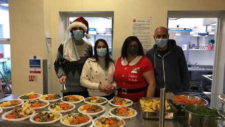 The Tailor Family from Ilford won the Redbridge CVS photo competition for saving the first Christmas at Malachi Place.