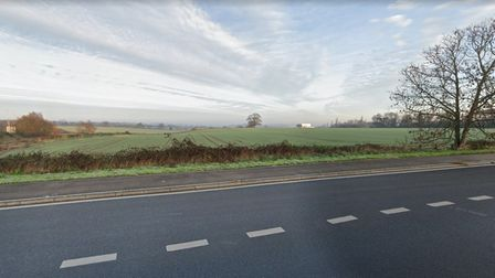Land off London Road, Ipswich, which could be developed for Wolsey Grange Two