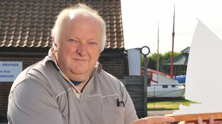 Ray Woolston from the Stalham Men's Shed.