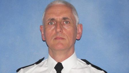 Chief Inspector Sarsfield Donohue from Suffolk Police. Picture: Suffolk Constabulary