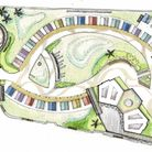 A plan of the new beach village at Felixstowe
