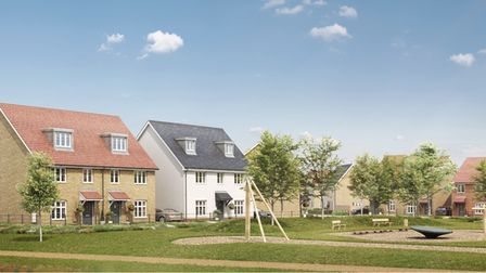A CGI indicative image of what the Wolsey Grange Two development could look like in Ipswich