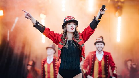 The Greatest Show opens The Tatton Park Pop-up Festival on 25th June