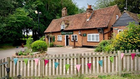 The Elephant & Castle in Amwell.