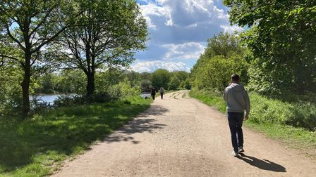 The council does not accept Wanstead Park as an acceptable route to and from schools.