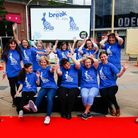 Volunteers pictured for Break's previous GoGoDiscover Hare trail in 2018