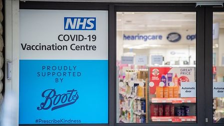 A coronavirus vaccination centre will be set up in Boots.