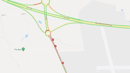 Visitors to The Nestmay have their journeys affecteddue to Norfolk County Council roadworks on the A140.