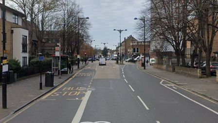 Romford Road in Forest Gate