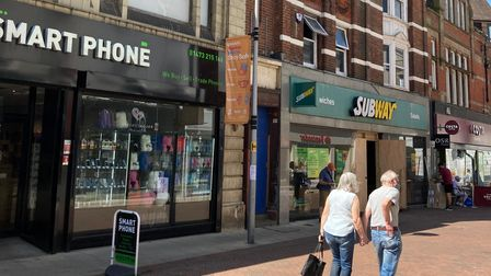 A change of use from retail storage space to housing in 10 - 16 Carr Street has been submitted to Ipswich Borough Council