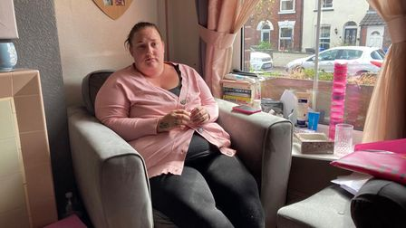 Lucy Wilson, 33, has been left in constant pain and incontinent by reconstructive surgery