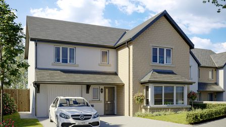 New build four bed home