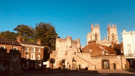 Bootham Bar and Minster