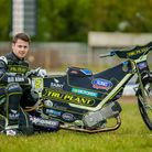 Jordan Stewart, pictured at the Ipswich Speedway press day on 15 May 2021. Picture: Stev