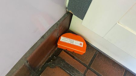 Mice traps have been put down in the facilities