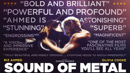 Sound of Metal can be seen on screen at Royston Picture Palace.
