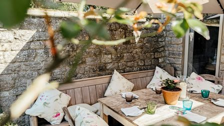 Lovely courtyard spaces for relaxing