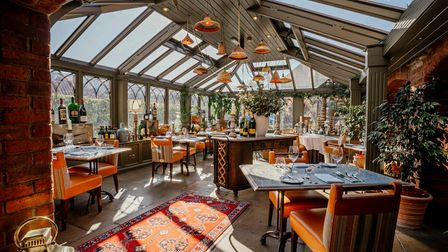The conservatory restaurant is a buzzyspot for dining