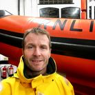 Del Elesmore - Appledore RNLI's newly passed out Helm