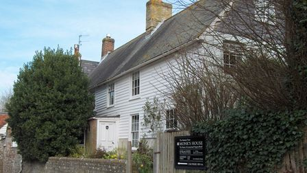 Monk's House in Lewes, Sussex now belongs to the National Trust