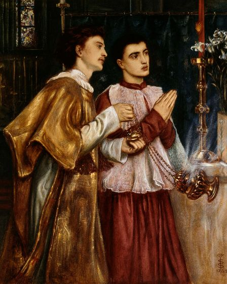 Two Acolytes, Censing, Pentecost