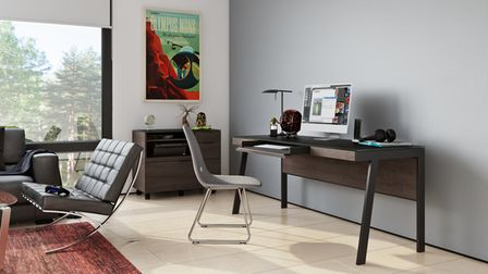 'Sigma' range of home office furniture from BDI Furniture in Lancashire, England.