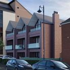 An artist's impression of what the new townhouses will look like.