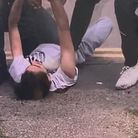 Still from the video of the incident in Hatfield.