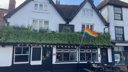 The Boot in St Albans is taking part in Pub Pride.