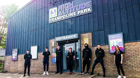The high Altitude team in Norwich's Whiffler Road