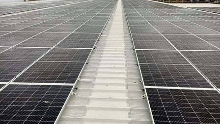 Yeo Valley has installed more than 3,300 solar panels at its site in Highbridge.