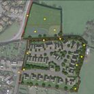 Indicative layout of what the homes plan for Northam would have looked like