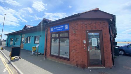 The new office of MP Simon Jupp in Exmouth