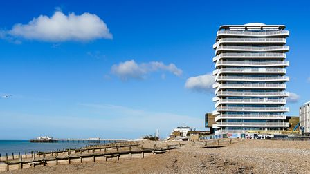 The building is inspired byWorthing's seafront architecture