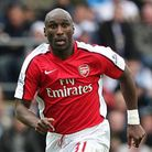 Sol Campbell during his last spell at Arsenal. Picture: PA