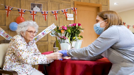 Hunters Down Care Home residents spread cheer in their 'Wash Your Hands' video.