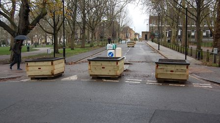 Islington Council has implemented road layout changes at Highbury Fields