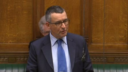 Bernard Jenkin in the House of Commons. Photograph: Parliament TV.
