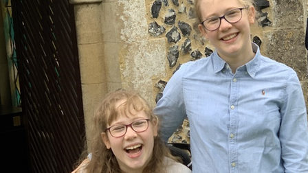 Sophie and Emily Harrison from Reed have been contributing to their community with online music performances.