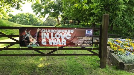 Tickets for this summer's Shakespeare at The George are selling out fast.