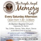 The Memory Cafe is held at Barton Baptist Church, Torquay, on Saturday afternoons