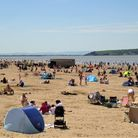 Tonnes of litter left on Weston beach after bank holiday