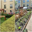 Harbour Residential Care Centre is preparing ts recycled garden for the summer.
