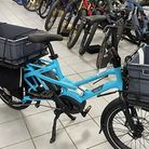 Businessescan apply for funding for an electric cargo bike to help them reduce their carbon footprint.