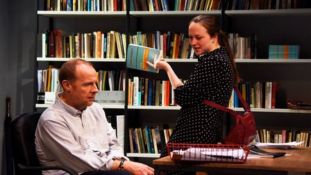 Oleanna by David Mamet, directed by Lucy Bailey, will return tothe Ustinov Studio at Theatre Royal Bath from Monday.