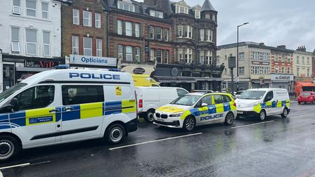 Police, London's ambulance and air ambulance arrived to the scene of a stabbing in Stamford Hill this morning.