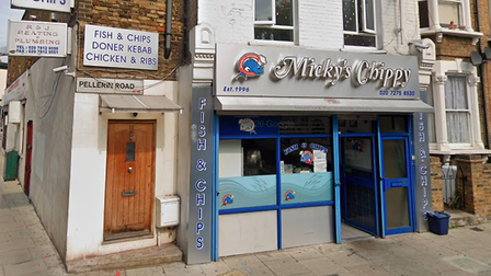 Mickey's chip shop in Hackney was ranked as the best in the borough.
