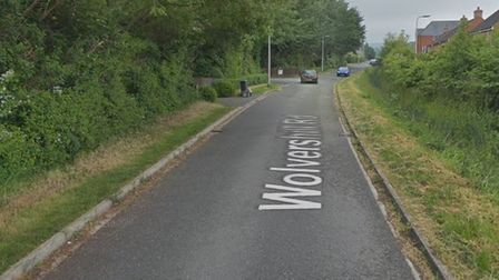 The incident occurred in Wolvershill Road.