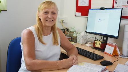 New Day Centre manager, Anneliese Maerz, at Age Concern North Norfolk. Picture: DENISE BRADLEY