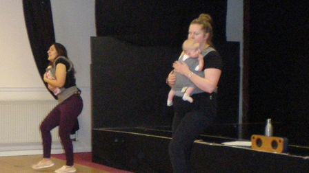 Parents will be able to move and dance with sling-held babies